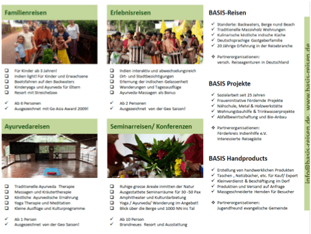 Infoabend und Vortrag Süd-Indien am 24. April / 20h